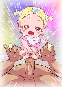 Rating: Explicit Score: 26 Tags: 1boy 1girl absurdres age_difference anal baby blonde_hair blush bottomless clothed_female_nude_male decensored fingering hair_ornament happy_sex heart heart_hair_ornament held_up hetero highres hug-tan_(precure) hugtto!_precure ironashi nude open_mouth penis precure pussy sex short_sleeves short_twin_tails socks spread_pussy third-party_edit tied_hair toddlercon twin_tails uncensored veins veiny_penis User: Domestic_Importer
