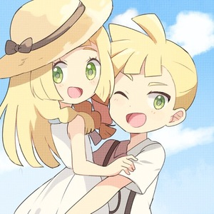 Rating: Safe Score: 0 Tags: 1boy 1girl bare_shoulders black_bow blonde_hair blue_sky blush bow braid brother_and_sister cloud day dress flat_chest gladio_(pokemon) green_eyes happy hat hat_bow hug light_blush lillie_(pokemon) long_hair looking_at_viewer looking_back looking_to_the_side lowres mei_(maysroom) one_eye_closed open_mouth outdoors pokemon pokemon_(anime) pokemon_sm_(anime) shirt short_sleeves siblings sky sleeveless sleeveless_dress smile sun_hat tied_hair twin_braids upper_body white_dress white_shirt yellow_hat younger User: DMSchmidt