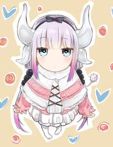Rating: Safe Score: 1 Tags: 10s 1girl bangs beads black_bow black_hairband blouse blue_eyes blunt_bangs bow buttons capelet center_frills cross-laced_clothes dragon_girl dragon_horns dress expressionless eyebrows_visible_through_hair frilled_capelet frills full_body gothic_lolita guruten11 hair_beads hair_bow hair_ornament hairband heart horns jitome kanna_kamui kobayashi-san_chi_no_maidragon lavender_hair legs_apart lolita_fashion long_hair long_sleeves low_twintails microdress purple_hair solo standing tail thighhighs twin_tails white_legwear User: Domestic_Importer