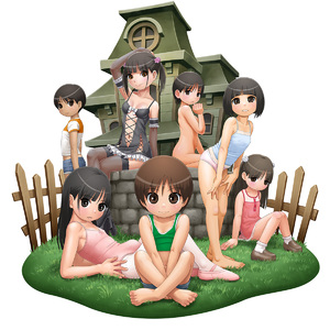 Rating: Questionable Score: 5 Tags: anda_(pennyroyal_tea) arm_support ballet_leotard ballet_slippers bangs bare_shoulders barefoot black_eyes black_hair blunt_bangs breasts brown_eyes brown_hair bulge covered_nipples crossed_legs fence flower frown hair_flower hair_ornament highres house knees_together_feet_apart leotard long_hair looking_at_viewer midriff navel nude original otoko_no_ko pantsu parted_lips short_shorts short_twin_tails shorts shota sitting small_breasts smile tank_top twin_tails underwear well white_background User: Domestic_Importer