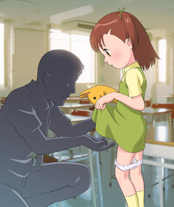 Rating: Questionable Score: 1 Tags: 00s 1girl bad_anatomy bad_proportions brown_eyes brown_hair digimon digimon_tamers dress dress_lift faceless faceless_male fingering katou_juri pantsu pantsu_pull puppet rico_(jackdoa) short_hair side_ponytail underwear User: DMSchmidt