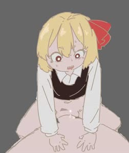Rating: Explicit Score: 4 Tags: 1boy 1girl animated blonde_hair blush bottomless closed_eyes eyebrows_visible_through_hair grin hair_ribbon hetero long_sleeves navel penis pirate_seal pov_eye_contact pussy pussy_juice ribbon rumia sex sharp_teeth short_hair smile solo_focus teeth touhou_project uncensored vaginal video webm User: Domestic_Importer
