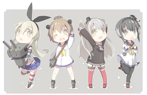 Rating: Safe Score: 0 Tags: 10s 4girls amatsukaze_(kantai_collection) arms_up black_eyes black_hair blonde_hair brown_eyes brown_hair d; dress gloves hairband kantai_collection lineup multicoloured_hair multiple_girls one_eye_closed open_mouth outstretched_arm pantyhose rensouhou-chan sailor_dress school_uniform serafuku shiitake_(mm0820) shimakaze_(kantai_collection) short_dress silver_hair smile thighhighs tokitsukaze_(kantai_collection) uniform yukikaze_(kantai_collection) zettai_ryouiki User: ShizKoE2