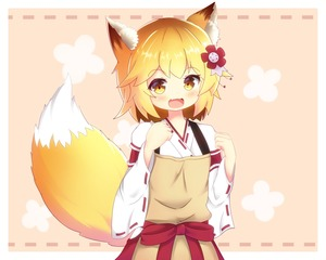 Rating: Safe Score: 0 Tags: 1girl :d absurdres animal_ear_fluff animal_ears blonde_hair fang flower fox_ears fox_girl fox_tail hair_flower hair_ornament highres japanese_clothes miko open_mouth ribbon-trimmed_sleeves ribbon_trim senko_(sewayaki_kitsune_no_senko-san) sewayaki_kitsune_no_senko-san short_hair skin_fang smile tail wide_sleeves yellow_eyes zendamu User: Domestic_Importer