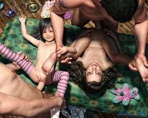 Rating: Explicit Score: 30 Tags: 2boys 2girls 3dcg age_difference anal ass barefoot black_hair bracelet clitoris father's_day flat_chest group_sex happy hetero long_hair looking_at_viewer looking_up multiple_boys multiple_girls multiple_penises nail_polish navel necklace nipples nude on_table orgy original penis photorealistic pussy shoes slimdog smile standing striped_legwear stuffed_animal stuffed_toy tattoo testicles thighhighs toy twin_tails User: lalilu1234