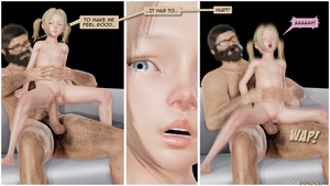 Rating: Explicit Score: 17 Tags: 1boy 1girl 3dcg age_difference anal blonde_hair blue_eyes close-up english flat_chest glasses held_up highres mia nipples nude open_mouth penis photorealistic pubic_hair reverse_cowgirl_position talking testicles vinnyinnocent User: fantasy-lover