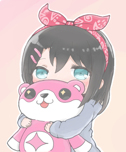 Rating: Safe Score: 1 Tags: +_+ 1girl :3 :d aqua_eyes bang_dream! bangs black_hair blush character_doll chibi covered_mouth grey_jacket hair_ornament hairband hairclip holding holding_stuffed_animal jacket koroneko_(ky-tora) long_sleeves looking_at_viewer medium_hair michelle_(bang_dream!) okusawa_misaki open_mouth outline red_bandana smile solo stuffed_animal stuffed_toy tan_background teddy_bear white_outline wide_face younger User: DMSchmidt