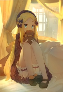 Rating: Safe Score: 4 Tags: 1girl abigail_williams_(fate/grand_order) absurdres backlighting bangs bed_sheet black_bow black_dress black_footwear black_headwear blonde_hair bloomers blue_eyes blush bow bug butterfly coria covered_mouth curtains dress eyebrows_visible_through_hair fate/grand_order fate_(series) forehead full_body hair_bow hands_up hat highres holding holding_stuffed_animal insect knees_up long_hair long_sleeves looking_at_viewer orange_bow parted_bangs polka_dot polka_dot_bow shoes sleeves_past_wrists solo stuffed_animal stuffed_toy sunlight symbol_commentary teddy_bear underwear very_long_hair white_bloomers User: DMSchmidt