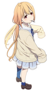 Rating: Safe Score: 0 Tags: 1girl ahoge blonde_hair blush brown_eyes candy cardigan dress food full_body futaba_anzu idolmaster idolmaster_cinderella_girls idolmaster_cinderella_girls_starlight_stage loafers lollipop long_hair long_sleeves looking_at_viewer low_twintails mattaku_mousuke mouth_hold neck_ribbon open_cardigan open_clothes ribbon shoes simple_background sleeves_past_fingers sleeves_past_wrists socks solo twin_tails white_background User: Domestic_Importer