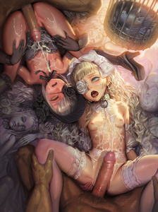 Rating: Explicit Score: 3 Tags: 2boys 2girls alphonse blonde_hair bow bow_panties breasts cage censored cum cum_in_pussy cum_on_body cum_on_lower_body cum_on_upper_body doll ejaculation eyepatch facial flat_chest group_sex hair_bow hetero long_hair lying mosaic_censoring multiple_boys multiple_girls multiple_penises nipples on_back open_mouth orgy original pantsu penis pov pussy saliva small_breasts spread_legs teeth thighhighs tongue underwear vaginal white_bow white_legwear User: Domestic_Importer