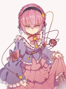 Rating: Safe Score: 2 Tags: 1girl absurdres arm_garter arm_ribbon blouse blue_blouse blue_ribbon bright_pupils buttons closed_mouth embarrassed embellished_costume eyeball eyebrows_visible_through_hair frilled_blouse frilled_shirt_collar frills furrowed_eyebrows hair_ornament heart heart_hair_ornament highres komeiji_satori lavender_shirt layered_clothing layered_skirt looking_at_viewer looking_up pink_eyes pink_hair ribbon ribbon-trimmed_collar ribbon_trim senzaicha_kasukadoki short_hair simple_background skirt_hold solo third_eye touhou_project wavy_mouth white_background white_pupils User: DMSchmidt