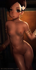 Rating: Explicit Score: 11 Tags: 1girl bracelet breasts brown_eyes brown_hair brown_skin dead_or_alive earrings flower hair_flower hair_ornament highres jewellery light_smile lips lisa_hamilton looking_at_viewer navel nipples nude otto short_hair small_breasts solo watermark web_address younger User: Domestic_Importer
