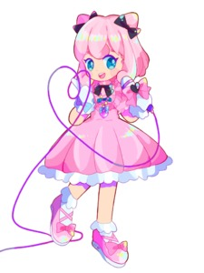 Rating: Safe Score: 0 Tags: 1girl black_bow black_neckwear blue_bow blue_eyes blush blush_stickers bobby_socks bow cable dress flat_chest frilled_dress frills full_body gen_1_pokemon gloves hair_bow hair_ornament hands_up happy heart heart_of_string holding jigglypuff looking_down mameeekueya microphone open_mouth pink_bow pink_dress pink_footwear pink_hair poke_ball_theme pokemon shiny shiny_hair shoe_bow shoes short_hair short_sleeves simple_background smile socks solo standing teeth white_background white_gloves white_legwear User: DMSchmidt