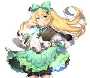 Rating: Safe Score: 0 Tags: 1girl anpolly atelier_(series) atelier_shallie blonde_hair bloomers bow closed_mouth cowboy_shot curly_hair frills frown gloves green_bow green_eyes green_skirt hair_bow long_hair miruca_crotze shawl skirt solo underwear white_background User: DMSchmidt