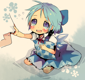 Rating: Safe Score: 0 Tags: (9) 1girl blue_eyes blue_hair bow cirno hair_bow methyl_key pillow short_hair solo team_shanghai_alice tears touhou_project wings ⑨ User: DMSchmidt