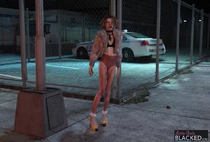 Rating: Safe Score: 3 Tags: 1girl 3dcg choker high_heels highres legs little_girls_blacked long_legs outdoors short_shorts shorts standing wayfarer User: laylomo