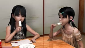 Rating: Questionable Score: 7 Tags: 2girls 3dcg animated artist_request bangs black_hair blunt_bangs brown_eyes closed_eyes flat_chest hara_min_saimin_nakadashi_kozukuri_sengen long_hair mp4 multiple_girls photorealistic sexually_suggestive sitting sucking_popsicle video User: Yine