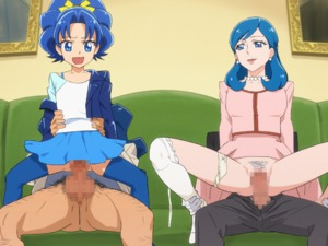 Rating: Explicit Score: 65 Tags: 2boys 2girls age_difference animated blue_eyes blue_hair blue_legwear blue_skirt bouncing bra_strap censored couch earrings fang flat_chest gif group_sex hands_on_another's_hips hetero jacket jewellery kirakira_precure_a_la_mode kotozume_yukari long_hair mosaic_censoring multiple_boys multiple_girls multiple_penises mushiro_(nijie728995) necklace open_mouth orgy pants pantsu pantsu_around_one_leg pearl_earrings pearl_necklace penis precure pubic_hair purple_eyes purple_hair pussy reverse_cowgirl_position sex skirt spread_legs straddling tategami_aoi thighhighs underwear vaginal white_legwear white_pantsu white_shirt User: Domestic_Importer