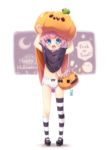 Rating: Safe Score: 0 Tags: 1girl :d absurdres arms_up asymmetrical_legwear bangs black_cape black_footwear blue_eyes blush bow bow_panties brown_ribbon candy candy_wrapper cape eyebrows_visible_through_hair food full_body ghost hair_ribbon halloween halloween_basket happy_halloween highres kneehighs kuwada_yuuki lollipop looking_at_viewer mary_janes multicolored_cape multicolored_clothes multicoloured navel open_mouth orange_cape original pantsu pink_hair platform_footwear pumpkin_hat ribbon shoes short_hair single_kneehigh single_thighhigh smile solo standing striped striped_legwear swirl_lollipop thighhighs trick_or_treat two_side_up underwear white_pantsu User: DMSchmidt