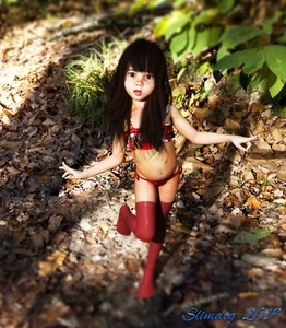 Rating: Questionable Score: 9 Tags: 1girl 3dcg artist_name black_hair flat_chest forest hetero highres looking_at_viewer nipples nude original outdoors photorealistic posing pussy slimdog standing toddlercon uncensored User: lalilu1234