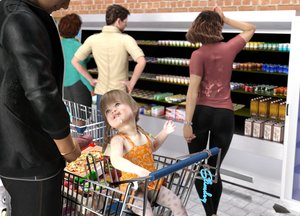 Rating: Explicit Score: 36 Tags: 2boys 3dcg 3girls age_difference ass bare_arms bare_shoulders black_jacket black_pants brick_wall cum facial hands_on_hips hetero highres long_sleeves looking_at_another looking_up multiple_boys multiple_girls original pants penis photorealistic shopping_cart short_sleeves sitting slimdog smile surprised uncensored User: Domestic_Importer