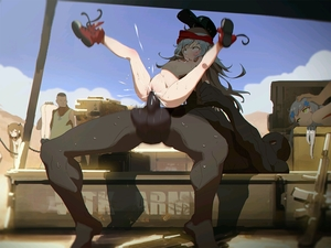 Rating: Explicit Score: 26 Tags: 2boys 3girls ahegao ankle_boots ass assault_rifle bald bangs baseball_cap black_hat blue_hair blue_sky blunt_bangs boots box breasts brown_hair brown_skin bulge chain cloud cum cum_in_pussy dark_skinned_male day g11_(girls_frontline) girls_frontline green_eyes gun hat head_grab headband hk416_(girls_frontline) interracial legs_up long_hair lying mica_team motion_blur multiple_boys multiple_girls nipples nude on_back outdoors over_shoulder rape red_boots rifle sex silver_hair sky slave sleeveless small_breasts spread_legs stomach_bulge sweat tank_top testicles text ump9_(girls_frontline) uncensored very_long_hair weapon wet wrist_grab User: Domestic_Importer