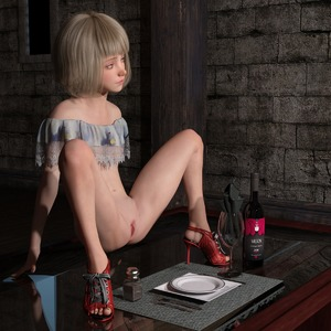 Rating: Explicit Score: 10 Tags: 3dcg blonde_hair blue_eyes bossy_2014 decensored functionally_nude high_heels looking_at_viewer on_table presenting presenting_pussy pussy spread_legs spread_pussy table tagme third-party_edit uncensored wine_bottle wine_glass User: Dampfnudel