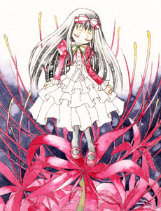 Rating: Safe Score: 0 Tags: 1girl bangs black_hair bow closed_eyes dress flower hair_bow higanbana_(higanbana_no_saku_yoru_ni) higanbana_no_saku_yoru_ni long_hair mary_janes pantyhose ribbon shoes smile solo spider_lily yanon User: DMSchmidt