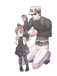 Rating: Safe Score: 2 Tags: 1boy 1girl adjusting_another's_hair animated belt black_hair blue_eyes blush brown_hair butterfly_ornament double_bun dress father_and_daughter gif hair_twirling hat jojo_no_kimyou_na_bouken kneeling kuujou_jolyne kuujou_joutarou long_hair multicoloured_hair pants reammara shirt shoes short_hair simple_background sleeveless sleeveless_dress sparkle spinning star star_print thighhighs tying_hair white_background younger User: Domestic_Importer