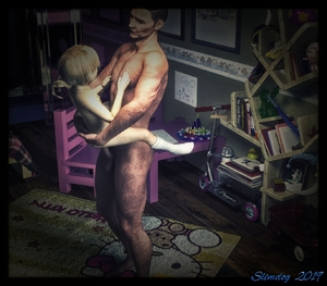Rating: Explicit Score: 33 Tags: 1boy 1girl 3dcg age_difference blonde_hair dog held_up hello_kitty necklace nude penis photorealistic sex slim slimdog socks standing testicles vaginal User: lalilu1234