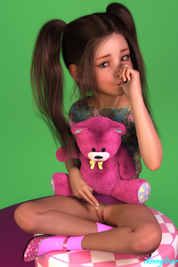 Rating: Explicit Score: 38 Tags: 1girl 3dcg black_hair blue_eyes clitoris flat_chest laura long_hair looking_at_viewer nail_polish photorealistic pussy sexually_suggestive shoes sitting skinny_lover socks stuffed_animal stuffed_toy thumb_sucking twin_tails v User: fantasy-lover