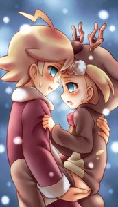 Rating: Questionable Score: 3 Tags: 10s 1boy 1girl ahoge blonde_hair blue_eyes blush brother_and_sister citron_(pokemon) cowgirl_position eureka_(pokemon) glasses hand_on_ass heavy_breathing highres hoodie incest jacket long_sleeves looking_at_another open_mouth pants pants_down pokemon pokemon_xy pokemon_xy_(anime) porocha profile short_hair shota siblings snow straight_shota sweat tears User: Domestic_Importer
