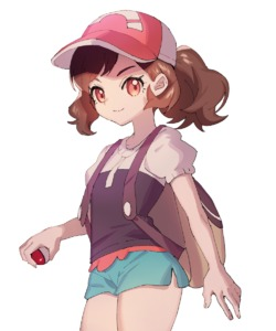 Rating: Safe Score: 2 Tags: 1girl ankea_(a-ramo-do) ayumi_(pokemon) backpack bag bangs baseball_cap black_shirt brown_hair closed_mouth cowboy_shot flat_chest green_shorts hand_up happy hat highres holding holding_poke_ball looking_at_viewer nintendo orange_eyes poke_ball poke_ball_(generic) poke_ball_theme pokemon pokemon_(game) pokemon_lgpe ponytail puffy_short_sleeves puffy_sleeves red_hat shirt short_shorts short_sleeves shorts simple_background smile solo standing swept_bangs tied_hair white_background User: DMSchmidt