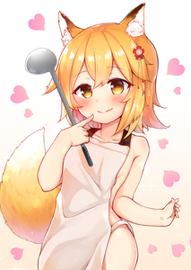 Rating: Questionable Score: 1 Tags: 1girl animal_ear_fluff animal_ears apron blush brown_eyes brown_hair finger_to_mouth fox_ears fox_tail heart highres kitsune naked_apron pink_background senko-san senko_(sewayaki_kitsune_no_senko-san) sewayaki_kitsune_no_senko-san short_hair simple_background smile solo tail tiguruvurumudo_vuorun upper_body white_apron User: DMSchmidt
