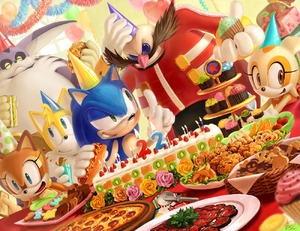 Rating: Safe Score: 0 Tags: 2girls 4boys big_the_cat birthday_hat biscuit cake cream_the_rabbit cupcake dr._eggman dutch_angle food happy_birthday hot_dog marine_the_raccoon multiple_boys multiple_girls pizza sega smile sonic sonic_the_hedgehog User: Domestic_Importer