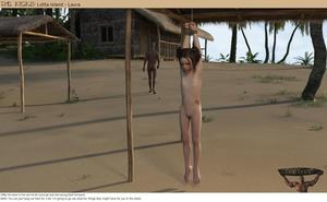 Rating: Explicit Score: 9 Tags: 1boy 1girl 3dcg after_sex age_difference barefoot bdsm beach bondage bound cum cum_in_ass flat_chest krogue laura-krogue navel nipples nude ocean photorealistic pussy shadow the_kicks User: fantasy-lover