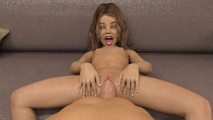 Rating: Explicit Score: 16 Tags: 1boy 1girl 3dcg age_difference blue_eyes brown_hair emma-mimic72 looking_at_viewer mimic72 navel nipples nude open_mouth penis photorealistic pov pussy smile teeth tongue vaginal User: fantasy-lover