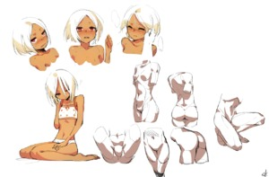 Rating: Questionable Score: 2 Tags: 1girl angry barefoot brown_skin character_sheet closed_eyes navel one_eye_closed original ox_(baallore) ramina_(baallore) red_eyes shoulder_blades simple_background spread_legs white_background User: DMSchmidt