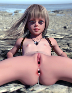 Rating: Explicit Score: 33 Tags: 1girl 3dcg after_sex ass bangs beach blonde_hair blue_eyes blunt_bangs cum cum_in_ass cumdrip flat_chest frantz gaping glasses long_hair looking_at_viewer navel_piercing necklace nipples ocean photorealistic sand shadow User: fantasy-lover