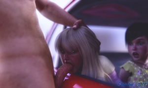 Rating: Explicit Score: 43 Tags: 10s 1boy 2019 2girls 3dcg age_difference blonde_hair car clothed_female_nude_male fellatio hand_on_another's_head multiple_girls nude oral original outdoors penis photorealistic realistic sex slimdog uncensored User: lalilu1234
