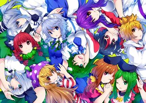 Rating: Safe Score: 0 Tags: 6+girls :3 :o :q ;) ;d american_flag_dress animal_ear_fluff animal_ears arm_up bangs black_bow black_hair black_hairband black_hat black_ribbon blonde_hair blouse blue_dress blue_eyes blue_neckwear blue_skirt bob_cut bow braid breasts brown_hair bunny_ears cat_ears clownpiece collarbone covering_mouth cowtits dress eyebrows_visible_through_hair frog_hair_ornament green_background green_bow green_dress green_eyes green_hair green_ribbon green_vest hair_between_eyes hair_bow hair_ornament hair_ribbon hair_tubes hairband hands_up hat head_tilt headdress highres holding_hands horns ishimu izayoi_sakuya jester_cap kaenbyou_rin kijin_seija kochiya_sanae konpaku_youmu large_breasts long_hair long_sleeves looking_at_viewer maid maid_headdress medium_breasts mononobe_no_futo multicoloured_hair multiple_girls neck_ribbon neck_ruff necktie nishida_satono one_eye_closed open_mouth parted_lips pink_dress pink_eyes polka_dot polka_dot_hat pom_pom_(clothes) ponytail profile puffy_short_sleeves puffy_sleeves purple_hair purple_hat purple_sash red_dress red_eyes red_hair red_neckwear red_sailor_collar reisen_udongein_inaba ribbon sailor_collar shirt short_hair short_hair_with_long_locks short_sleeves silver_hair simple_background single_sidelock skirt smile snake_hair_ornament streaked_hair striped striped_dress teireida_mai tongue tongue_out toramaru_shou touhou_project twin_braids twin_tails upper_body upside-down vest white_blouse white_dress white_hair white_shirt wide_sleeves wing_collar yellow_bow yellow_eyes User: DMSchmidt