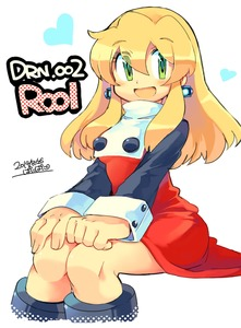 Rating: Safe Score: 0 Tags: 1girl android blonde_hair blush breasts capcom dated dress earrings eyebrows_visible_through_hair green_eyes hair_between_eyes hair_down hands_on_own_knees heart iroyopon jewellery long_hair looking_at_viewer open_mouth red_dress rockman rockman_(classic) rockman_8 roll signature simple_background sitting small_breasts solo turtleneck white_background User: DMSchmidt