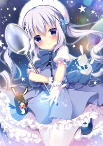 Rating: Safe Score: 0 Tags: 1girl :< alternate_costume alternate_hairstyle angora_rabbit animal animal_on_head bangs bare_shoulders black_wings blue_dress blue_footwear blue_neckwear blush bow bowtie brooch bunny closed_mouth crown dress eyebrows_visible_through_hair floating_hair gloves gochuumon_wa_usagi_desu_ka? hair_between_eyes hair_ornament head_tilt holding holding_spoon jewellery kafuu_chino leg_up long_hair looking_at_viewer mary_janes mini_crown on_head outstretched_arm outstretched_hand oversized_object pantyhose petticoat pink_neckwear puffy_short_sleeves puffy_sleeves purple_eyes purple_hair reaching_out revision shibainu_niki shiny shiny_hair shoes short_dress short_sleeves smile sparkle star striped_neckwear twin_tails very_long_hair white_gloves white_legwear white_wings wings x_hair_ornament User: Domestic_Importer