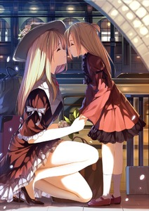 Rating: Safe Score: 2 Tags: 2girls age_difference bad_id bad_pixiv_id blonde_hair bow bus caidychen closed_eyes dress flower gloves ground_vehicle hat hat_flower high_heels holding_hands imminent_kiss incest legs long_hair luggage mary_janes mother_and_daughter motor_vehicle multiple_girls no_socks one_knee original rose shoes side_ponytail smile socks tears white_legwear yuri User: DMSchmidt