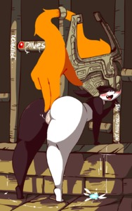 Rating: Explicit Score: 24 Tags: 1girl animated anus aqua_panties ass ass_grab beckoning bent_over blush come_hither diives fang gif helmet highres huge_ass invitation looking_at_viewer looking_back masturbation midna navi nude orange_hair paid_reward pantsu patreon_reward pointy_ears prehensile_hair pussy pussy_juice red_eyes signature solo speech_bubble spread_anus spread_pussy text the_legend_of_zelda the_legend_of_zelda:_twilight_princess thick_thighs thighs tiptoes two-tone_skin uncensored underwear wall watermark yellow_sclera User: Domestic_Importer