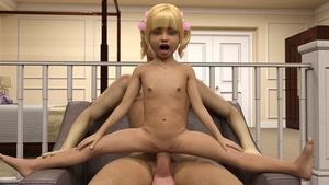 Rating: Explicit Score: 19 Tags: 1boy 1girl 3dcg age_difference barefoot blonde_hair blue_eyes clitoris flat_chest looking_at_viewer mimic72 nail_polish navel nipples open_mouth penis photorealistic pussy reverse_cowgirl_position spread_legs susie testicles twin_tails vaginal User: fantasy-lover