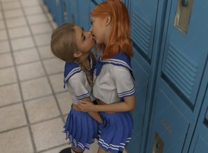 Rating: Explicit Score: 7 Tags: 2girls 3dcg ahunt cheerleader closed_eyes fingering french_kiss kiss multiple_girls nail_polish photorealistic red_hair school skirt standing tongue twin_tails yuri User: fantasy-lover