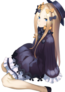 Rating: Safe Score: 0 Tags: 1girl abigail_williams_(fate/grand_order) bangs black_bow black_dress black_footwear black_hat blonde_hair bloomers blue_eyes bow bug butterfly closed_mouth dress fate/grand_order fate_(series) forehead hair_bow hat highres insect long_hair long_sleeves looking_at_viewer muunyan_(yumenekoya) orange_bow parted_bangs polka_dot polka_dot_bow shoes simple_background sitting sleeves_past_fingers sleeves_past_wrists solo underwear very_long_hair wariza white_background white_bloomers User: DMSchmidt