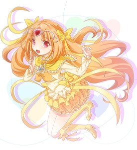 Rating: Safe Score: 0 Tags: 1girl boots bow brooch bubble_skirt choker circlet cure_muse_(yellow) dress frills hair_ribbon heart high_heels jewellery long_hair magical_girl open_mouth orange_hair precure ratryu red_eyes ribbon shirabe_ako smile solo suite_precure yellow_dress User: DMSchmidt