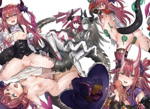 Rating: Explicit Score: 5 Tags: 2boys 6+girls areolae asymmetrical_horns blue_eyes blue_ribbon blush boots cape choker corset curled_horns dragon_girl dragon_horns dragon_tail elizabeth_bathory_(brave)_(fate) elizabeth_bathory_(fate) elizabeth_bathory_(fate)_(all) elizabeth_bathory_(halloween_caster)_(fate) fate/grand_order fate_(series) fellatio flat_chest hair_ribbon hat heart heart-shaped_pupils hetero highres horns knee_boots long_hair mecha_eli-chan mecha_eli-chan_mk.ii multiple_boys multiple_girls multiple_persona nipples nose_blush open_mouth oral pauldrons penis pink_hair pointy_ears ribbon robot ryuuji_teitoku symbol-shaped_pupils tail thighhighs tiara torn_cape torn_clothes two_side_up vambraces white_cape wings witch_hat User: DMSchmidt